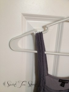 regular hangers with strap holders