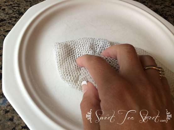 Cleaning plate
