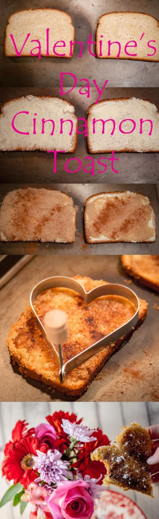 Cinnamon Toast for Valentine's Day | www.sweetteasweetie.com