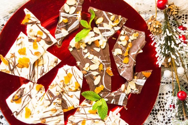 Chocolate Apricot Bark | www,sweetteasweetie.com