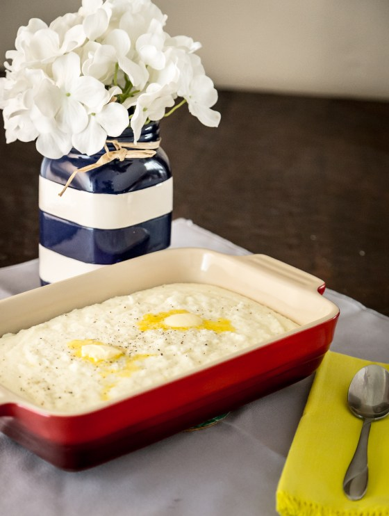 Cream Cheese Grits | www.sweetteasweetie.com