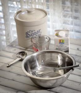 4th of July Homemade Whipped Cream on Berries - Sweet Tea ...