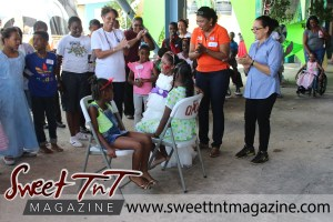 Special needs children, girls in pretty dresses play musical chairs at Special children Easter Bonnet parade at Queen's Park Cricket Club, color eggs, Sweet T&T, Sweet TnT, Trinidad and Tobago, Trini, vacation, travel