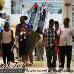 Families with babies spend wisely at Trincity Mall in sweet T&T for Sweet TnT Magazine, Culturama Publishing Company, for news in Trinidad, in Port of Spain, Trinidad and Tobago, with positive how to photography.