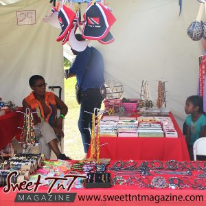 Lifestyle - Jewelry vendors at Parang Festival in Lopinot.