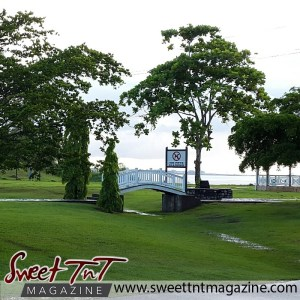 Place - Architectural walkway at Vessigny Beach in sweet T&T for Sweet TnT Magazine, Culturama Publishing Company, for news in Trinidad, in Port of Spain, Trinidad and Tobago, with positive how to photography.