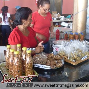 Tableland Food Expo - ladies sell their spicy products.