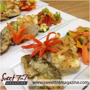 Tasty food at Trinidad and Tobago Hospitality and Tourism Institute