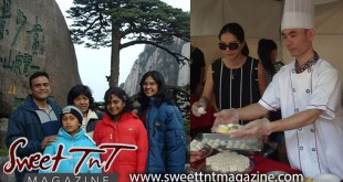 Candida, Katrina Khan and family in China and back in Trinidad are Chinese people cooking on Brian Lara Promenade, Port of Spain, Sweet T&T, Sweet TnT, Trinidad and Tobago, Trini, vacation, travel