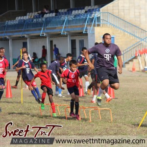 Students train, Football Factory, St Mary's college, CIC grounds, Terry Fenrick, sports in T&T, Sweet T&T, Sweet TnT, Trinidad and Tobago, Trini, vacation, travel