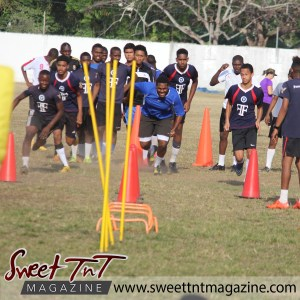 Teenagers train hard on field, Football Factory, St Mary's college, CIC grounds, Terry Fenrick, sports in T&T, Sweet T&T, Sweet TnT, Trinidad and Tobago, Trini, vacation, travel