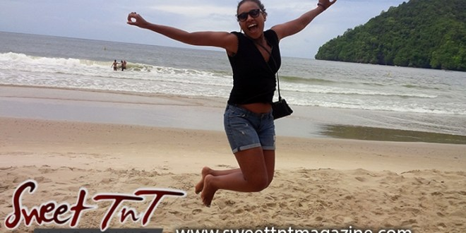 TOURISM SECTOR PREPARING FOR BORDERS REOPENING , Winta loving Trinidad, jumping on Maracas Beach, Sweet T&T, Sweet TnT, Trinidad and Tobago, Trini, vacation, travel,