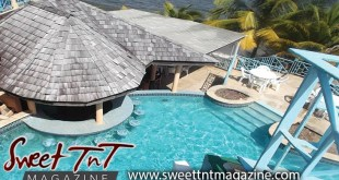 Pool at Salybia resort, clear blue water, Nerissa Hosein and family, Sweet T&T, Sweet TnT, Trinidad and Tobago, Trini, vacation, travel