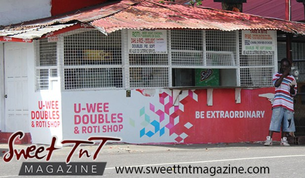 U-WEE doubles and roti shop, UWI, University of the West Indies, St Augustine Digicel, Sweet T&T, Sweet TnT, Trinidad and Tobago, Trini, vacation, travel