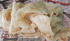 Roti skin, flour, indian food, buss up shut, Sweet T&T, Sweet TnT, Trinidad and Tobago, Trini, Travel, Vacation, Tourist,