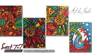 Christmas Cards, Art de Joulie Sweet T&T, Sweet TnT, Trinidad and Tobago, Trini,