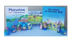 Manatee has a question colouring book