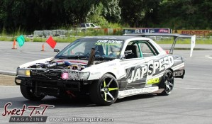 Jap Speed car for Drifters in Wallerfield article by Marika Mohammed in sweet T&T for Sweet TnT Magazine, Culturama Publishing Company, for news in Trinidad, in Port of Spain, Trinidad and Tobago, with positive how to photography.