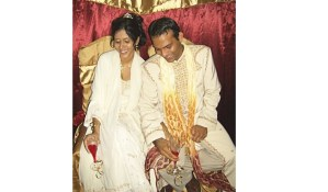 Marriage tips, Nerissa Hosein, Muhammed Hosein at wedding in sweet T&T for Sweet TnT Magazine, Culturama Publishing Company, for news in Trinidad, in Port of Spain, Trinidad and Tobago, with positive how to photography.