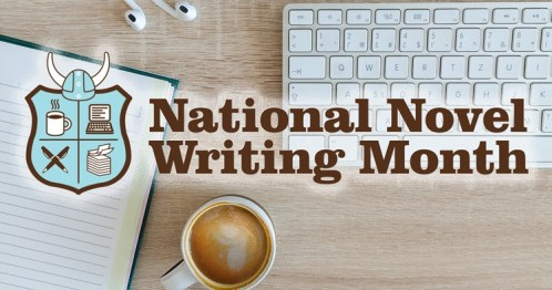 November is National Novel Writing Month