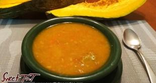 Pumpkin soup recipe in sweet TnT, Trinidad