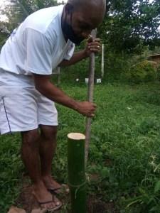 Verde Organics, Citizens served organic food by bartender now farmer