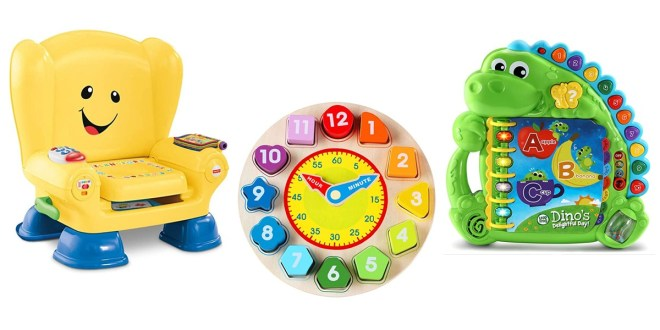 Toys for babies to keep learning