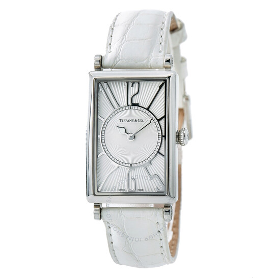 TIFFANY & CO. PRE-OWNED Tiffany Gallery White Dial Ladies Watch 6654
