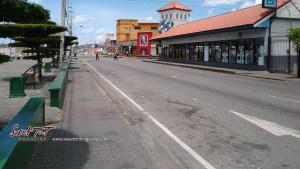 Survive the lockdown. San Juan, Eastern Main Road, Trinidad.