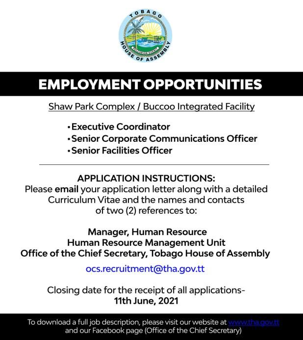 Government Vacancies May 2021