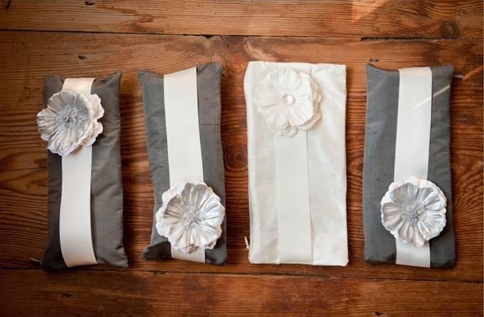 handmade wedding clutches
