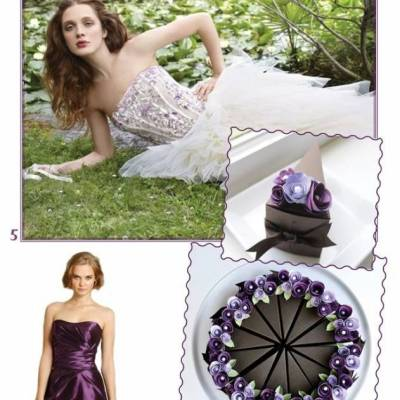 Violet Wedding Inspiration