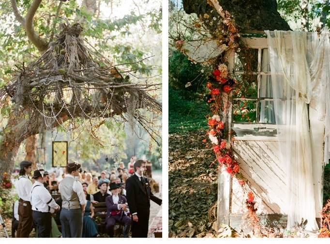 woodland fairy wedding