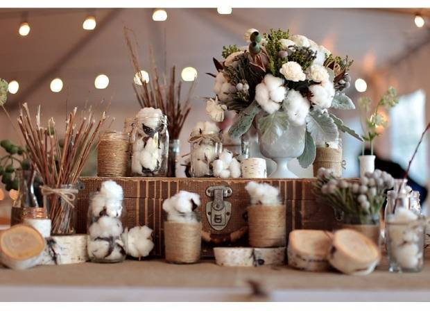 cotton wedding theme