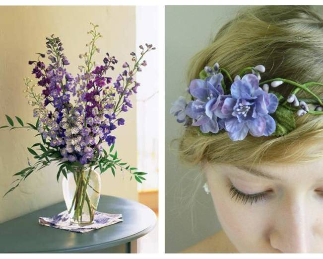 Wedding Flower Inspiration Delphinium