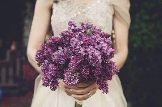 Wedding Flower Inspiration: Lilac