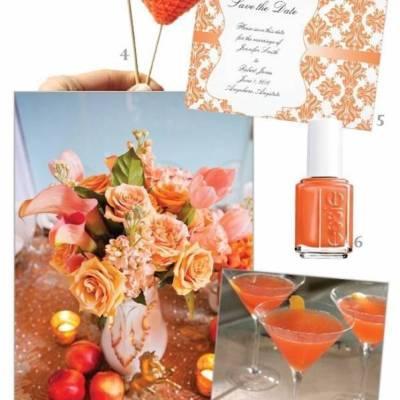 Nectarine Wedding Inspiration