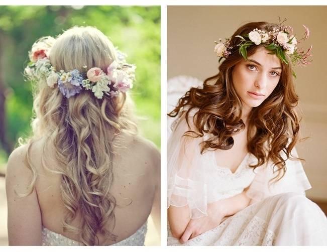 pastel jasmine flower crown