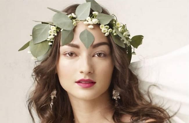 leaf flower crown