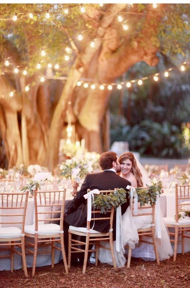 magical garden wedding