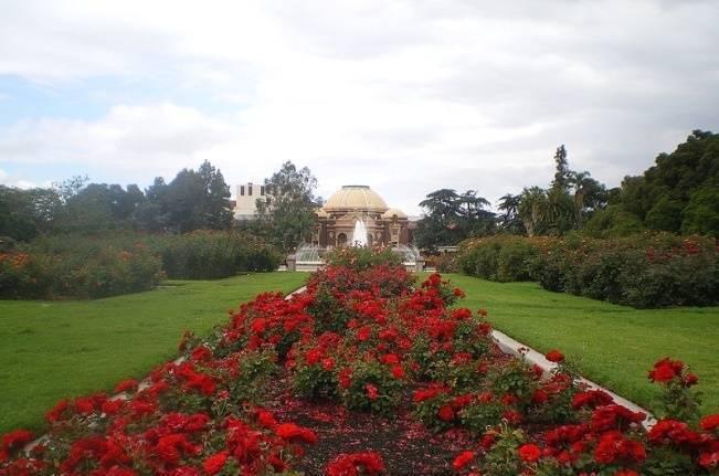 rose garden in los angeles