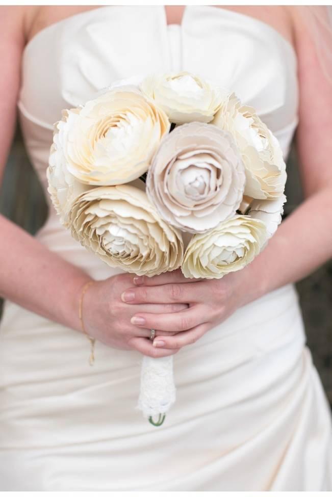 paper ranunculus bouquet