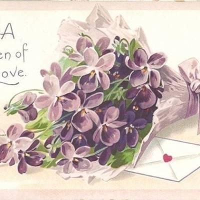 Wedding Flower Inspiration: Sweet Violets