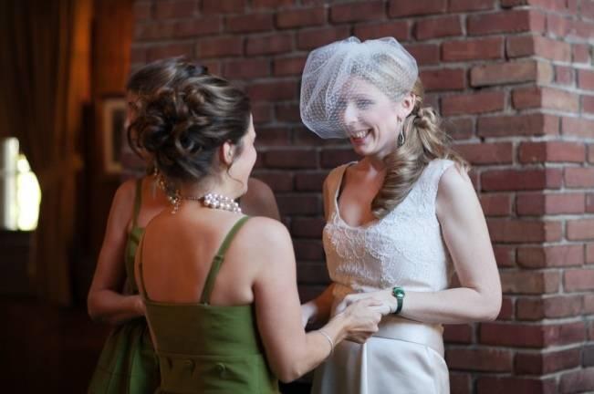 leaf green bridesmaid dress
