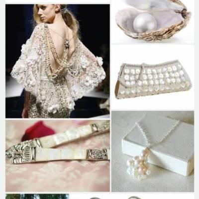 Wedding Inspiration Board #12: Pretty Pearls