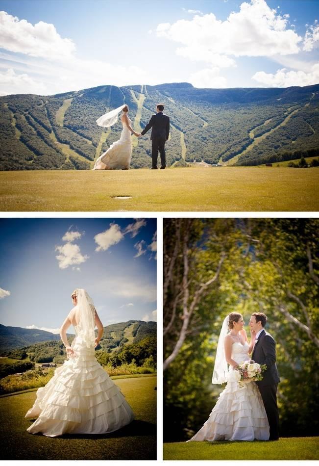 summer wedding at Stowe