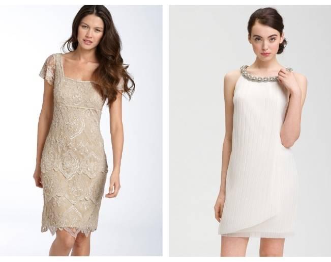 nordstrom short wedding dress
