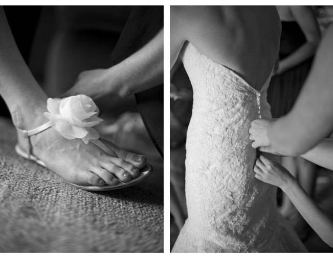 flower wedding sandal