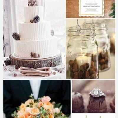 Wedding Inspiration Board #18: Acorn