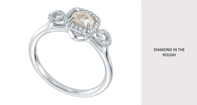 rough diamond engagement ring - Eco Friendly Wedding Rings
